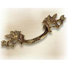 Louis XV Brass Handle Pull in French Antique Gold