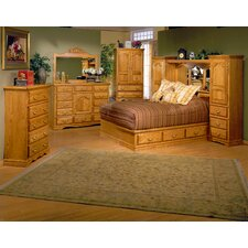 <strong>Bebe Furniture</strong> Country Heirloom Pier Wall Platform Bedroom Collection