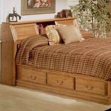 <strong>Bebe Furniture</strong> Country Heirloom Pier Bookcase Headboard Only in Warm Rich