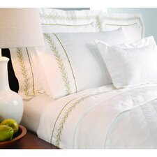 400 Thread Count Sateen Embroidered  Sheet Set