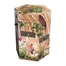 "Treasure Tower 9.25"" High Fairy Jewelry Box"