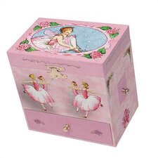 Ballerina Treasure Music Jewelry Box
