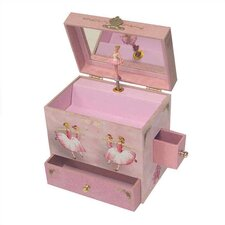 "Ballerina Treasure 6"" High Music Box"