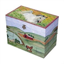 Hide Away Horse Treasure Jewelry Box