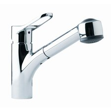 <strong>Franke</strong> Single Handle Single Hole Kitchen Faucet with Pull Out Spray