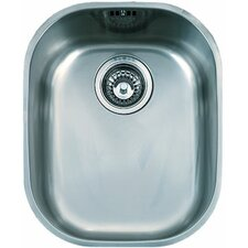 "17.19"" x 14.19"" Compact Single Bowl Kitchen Sink"