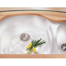 "Prestige 32.88"" x 20.94"" Fireclay Under Mount Double Bowl Kitchen Sink"