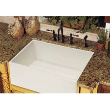 "Farm House 30.13"" x 20"" Fireclay Apron Front Kitchen Sink"