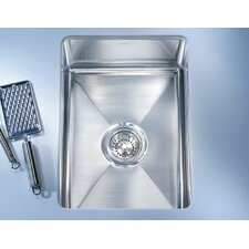 "Professional 17.5"" x 19.5"" x 7.5"" Under Mount Kitchen Sink"