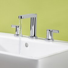 HansaEdge Widespread Bathroom Faucet with Double Handles