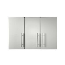 "23.6"" H x 35.4"" W x 14"" D Partitioned Wall Cabinet"