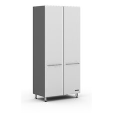 "<strong>Ulti-MATE</strong> Storage Large 36"" 2-Door Tall Cabinet in Starfire Pearl w/Three Shelves"