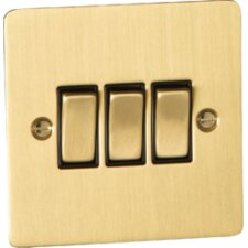 10A Three Gang Two Way Switch