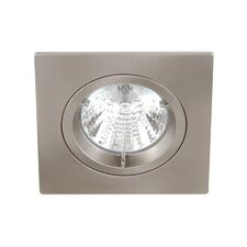 <strong>Knightsbridge</strong> Die-Cast Low Voltage Square Downlight Kit
