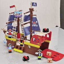 Pirate Ship (Set of 2)