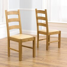 Valencia Solid Oak Dining Chair (Set of 2)