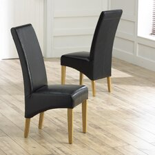 Roma Oak Dining Chair (Set of 2)