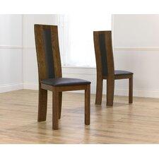 Dark Havana Oak Dining Chair (Set of 2)