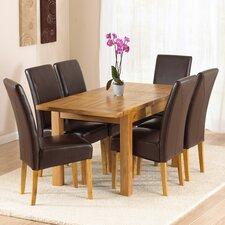 Rustique 7 Piece Extendable Dining Set