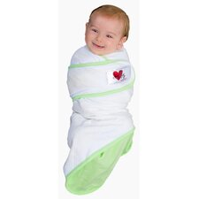Snug and Tug Swaddle Blanket Swaddle Blanket, Green - Small
