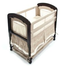 Cambria Wood Co-Sleeper with Skirt