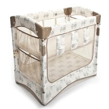 Mini Co-Sleeper Curved Bassinet with Skirt