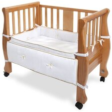 Co-Sleeper Sleigh Bed Bassinet