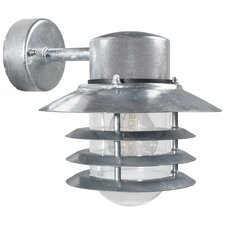 Vejers Down 1 Light Semi Flush Wall Light