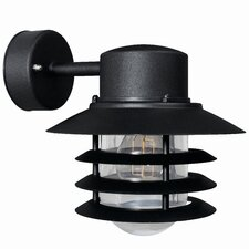 Vejers Down 1 Light Semi-Flush Wall Light