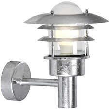 <strong>Nordlux</strong> Lonstrup Outdoor 1 Light Semi-Flush Wall Light