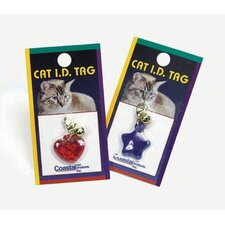 Pet ID Tag in Red