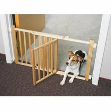 "18"" Walk-Over Wood Gate with Door"