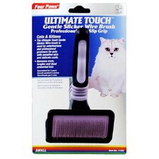 <strong>Four Paws</strong> Ultimate Touch Gentle Slicker Wire Brush for Cats