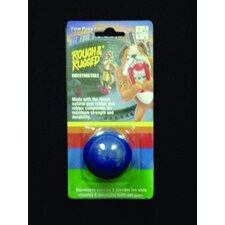 Rough and Rugged Solid Ball Dog Toy in Multi Colored