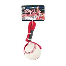 "<strong>Four Paws</strong> 2.75"" Rough and Rugged Baseball Tug Dog Toy"