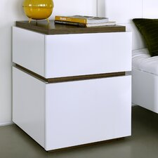 Slot 002 2 Drawer Bedside Table