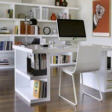 2 Shelf Computer Desk