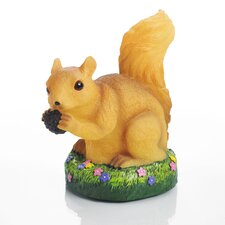 Glow Anywhere LED Squirrel Statue