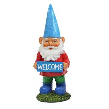Gnomes with Welcome Sign