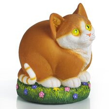 Glow Anywhere LED Cat Statue