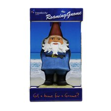 Travelocity Roaming Gnome Statue