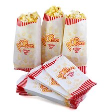1 Case of 1000 Movie Theater Popcorn Bags