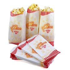 Popcorn Theater Paper Bags