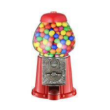 Old Fashioned Candy Gumball Machine in Red