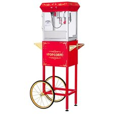 4 oz All-Star Popcorn Machine and Cart