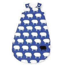 "130cm Winter-Kugelschlafsack ""Happy Sheep"" in Blau"