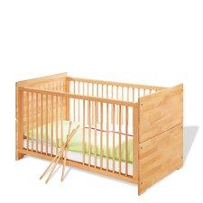 """Kinderbett """"Natura"""" mit 3 Schlupfsprossen und 2 Umbauseiten"""