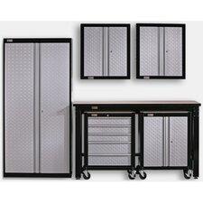 6' H x 4.5' W x 3.5' D 5-Piece Cadet Garage Storage System