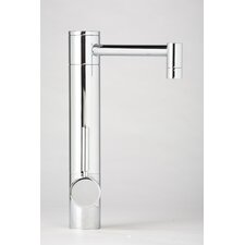 Hunley One Handle Single Hole Bar Faucet with Built-In Diverter and Lever Handle