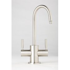 <strong>Waterstone</strong> Parche Two Handle Single Hole Hot and Cold Water Dispenser Faucet with Lever Handle